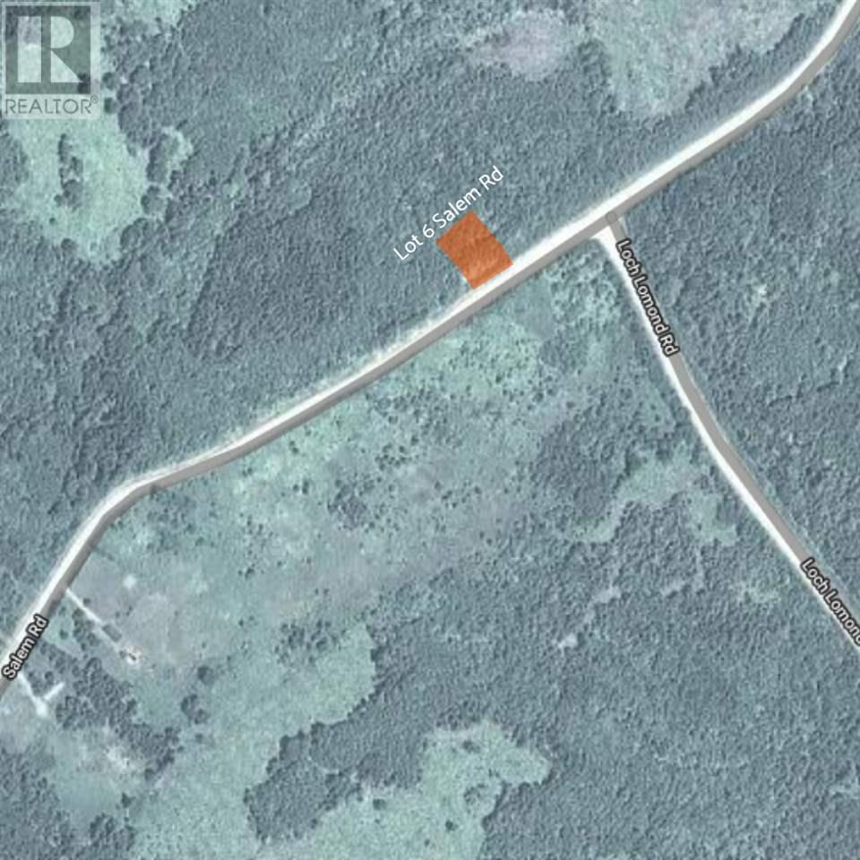 Lot 6 Salem Road, Enon, Nova Scotia  B1J 1W1 - Photo 1 - 202000388